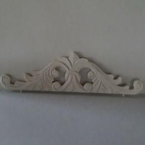 Decorative Carved Wood Applique